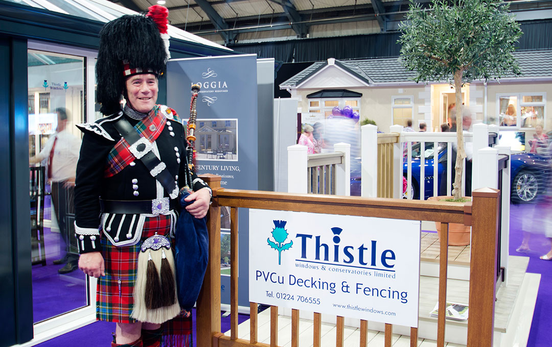 Thistle Windows Aberdeen Scottish Home Show 2012