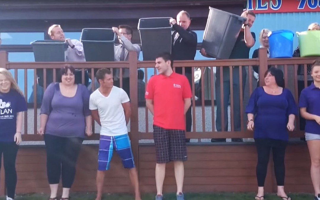 Team Thistle Faces The Ice Bucket Challenge for CLAN