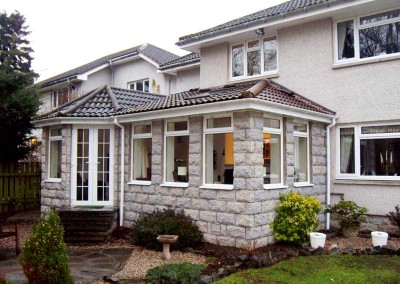 Porches Sunrooms Home Extensions Aberdeen, Aberdeenshire Installation Example 56