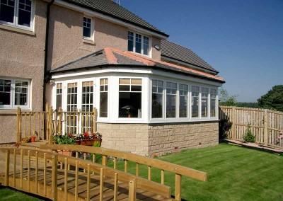 Porches Sunrooms Home Extensions Aberdeen, Aberdeenshire Installation Example 66