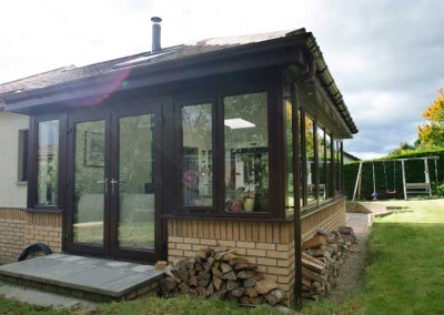 Porches Sunrooms Home Extensions Aberdeen, Aberdeenshire Installation Example 8
