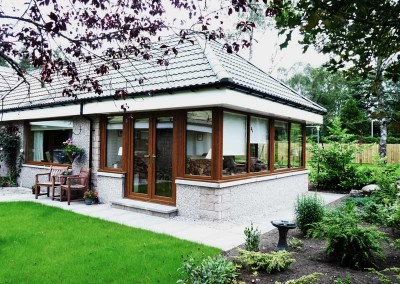 Porches Sunrooms Home Extensions Aberdeen, Aberdeenshire Installation Example 86