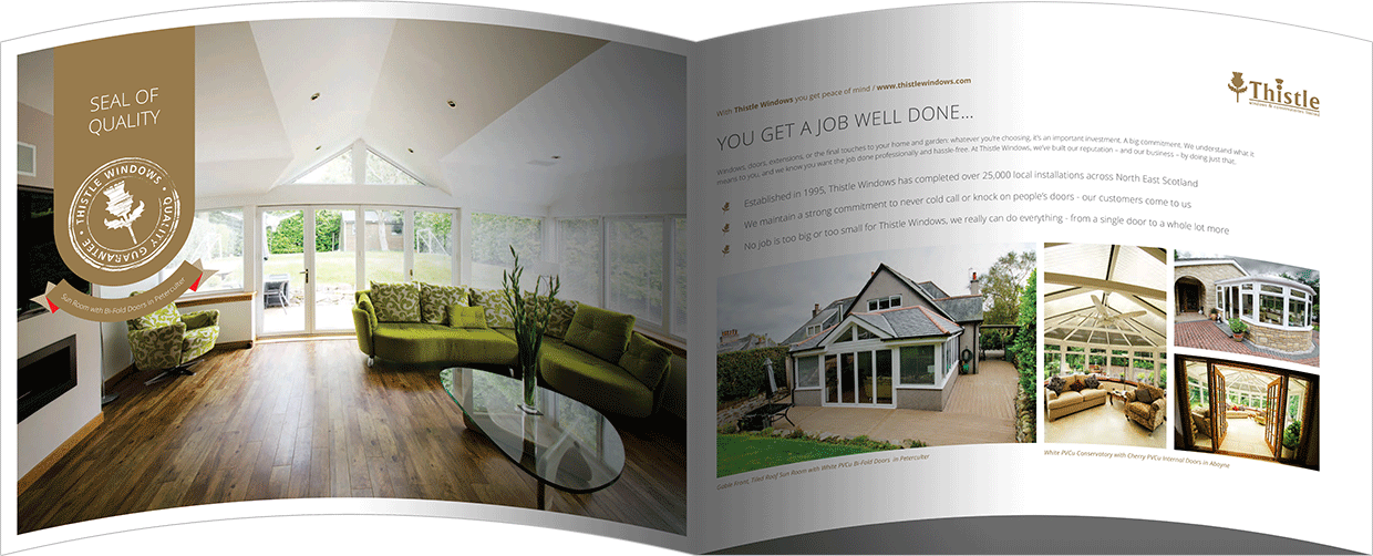 Thistle Windows & Conservatories Aberdeen, Aberdeenshire & North East Scotland Brochure