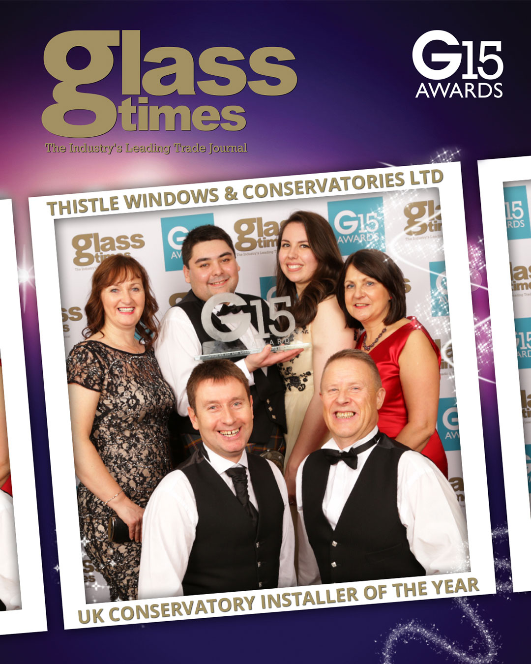 Thistle Windows Conservatories G15 Awards