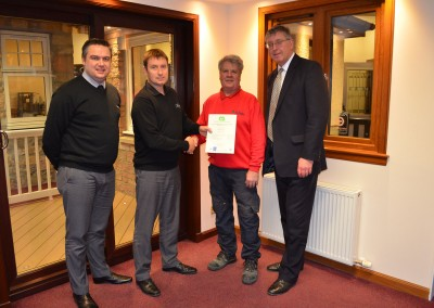 Thistle Windows GQA Certificates SVQ Awards 1