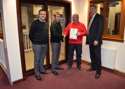 Thistle Windows GQA Certificates SVQ Awards 12