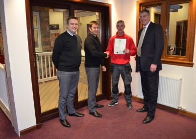 Thistle Windows GQA Certificates SVQ Awards 16