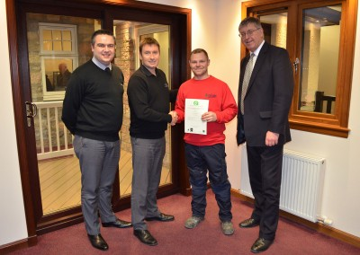 Thistle Windows GQA Certificates SVQ Awards 2