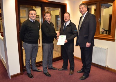 Thistle Windows GQA Certificates SVQ Awards 4