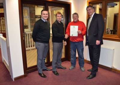 Thistle Windows GQA Certificates SVQ Awards 5