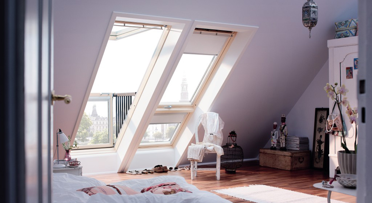 Bedroom VELUX Windows Aberdeen, Aberdeenshire & North East Scotland: Inspiration Example 4