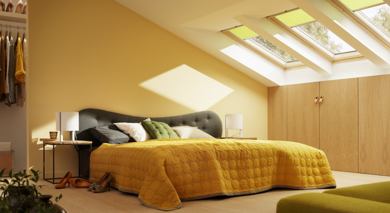 Bedroom VELUX Windows Aberdeen, Aberdeenshire & North East Scotland: Inspiration Example 5