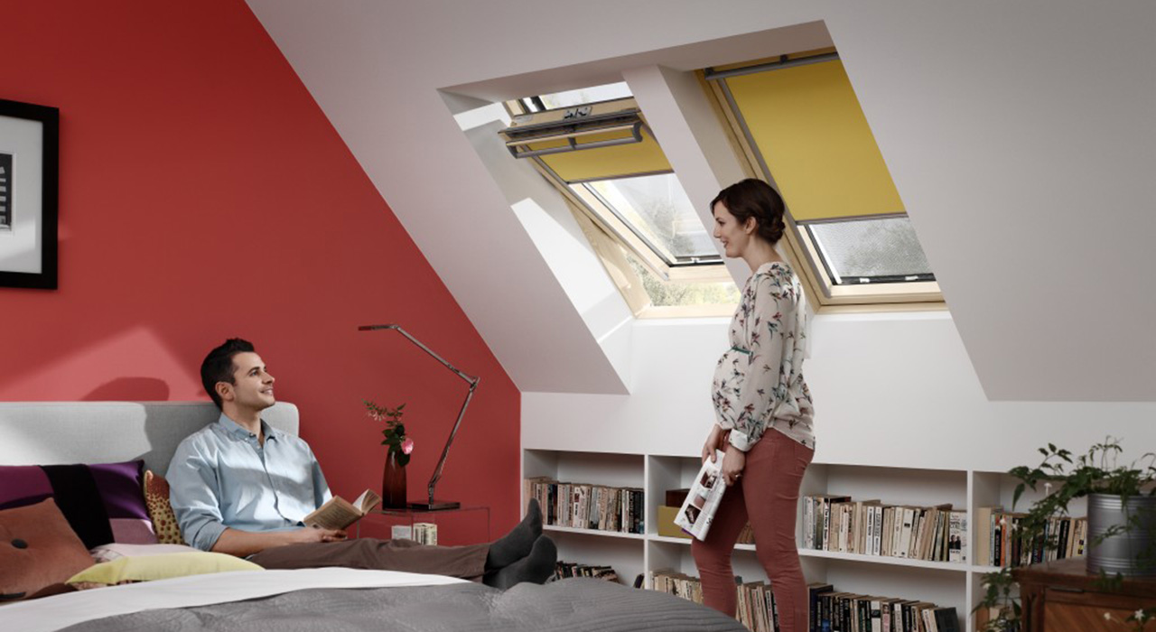 Bedroom VELUX Windows Aberdeen, Aberdeenshire & North East Scotland: Inspiration Example 6