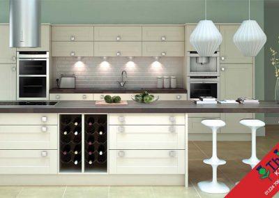 British Kitchens Aberdeen, Aberdeenshire: Sheraton Kitchens Broad Style Buttermilk