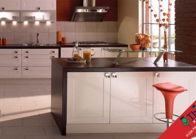 British Kitchens Aberdeen, Aberdeenshire: Sheraton Kitchens Gloss White Shaker