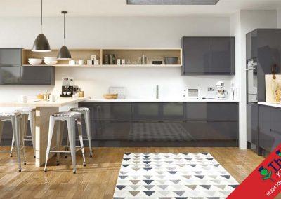 British Kitchens Aberdeen, Aberdeenshire: Sheraton Kitchens In-Line Gloss Anthracite
