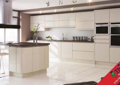 British Kitchens Aberdeen, Aberdeenshire: Sheraton Kitchens In-Line Gloss Ivory