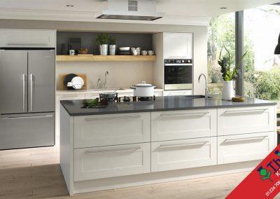 British Kitchens Aberdeen, Aberdeenshire: Sheraton Kitchens Broad Style Ivory