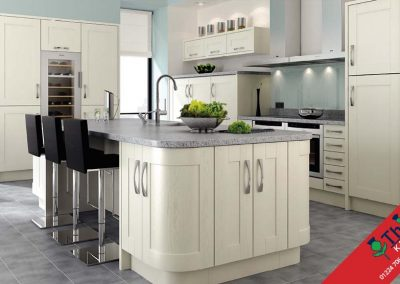 British Kitchens Aberdeen, Aberdeenshire: Sheraton Kitchens Ivory In-Frame