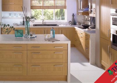 British Kitchens Aberdeen, Aberdeenshire: Sheraton Kitchens Lissa Oak Shaker