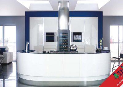 British Kitchens Aberdeen, Aberdeenshire: Sheraton Kitchens Lucente Ivory