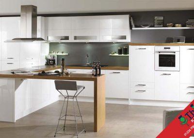 British Kitchens Aberdeen, Aberdeenshire: Sheraton Kitchens Lucente White