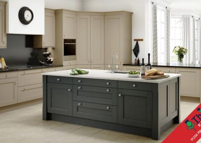 British Kitchens Aberdeen, Aberdeenshire: Sheraton Kitchens Manor House Painted Shaker