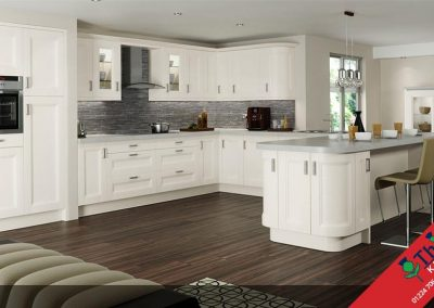 British Kitchens Aberdeen, Aberdeenshire: Sheraton Kitchens Chamfered Shaker Painted