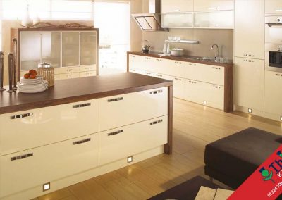 British Kitchens Aberdeen, Aberdeenshire: Sheraton Kitchens Mattonella Gloss Ivory