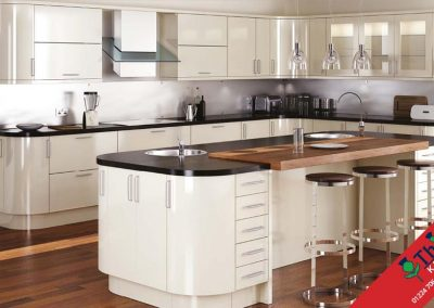 British Kitchens Aberdeen, Aberdeenshire: Sheraton Kitchens Mattonella Gloss Stone