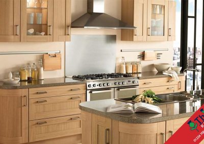 British Kitchens Aberdeen, Aberdeenshire: Sheraton Kitchens Natural Oak Shaker