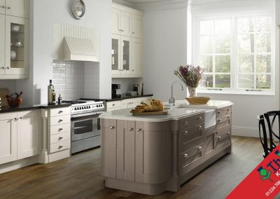 British Kitchens Aberdeen, Aberdeenshire: Sheraton Kitchens Painted Wood Shaker