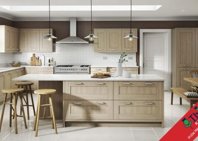 British Kitchens Aberdeen, Aberdeenshire: Sheraton Kitchens Sand Oak Shaker