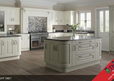 British Kitchens Aberdeen, Aberdeenshire: Sheraton Kitchens Character Painted