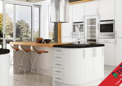 British Kitchens Aberdeen, Aberdeenshire: Sheraton Kitchens Satin White