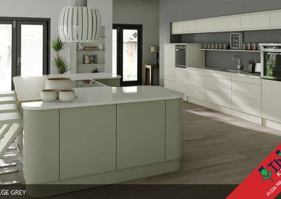 British Kitchens Aberdeen, Aberdeenshire: Sheraton Kitchens Setosa Painted