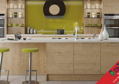British Kitchens Aberdeen, Aberdeenshire: Sheraton Kitchens Woodgrain Arlington Oak