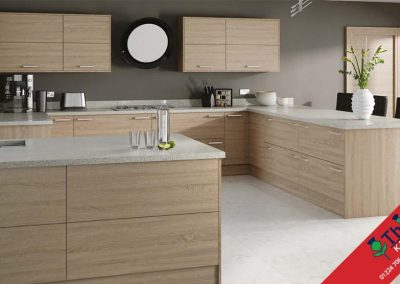 British Kitchens Aberdeen, Aberdeenshire: Sheraton Kitchens Woodgrain Bardolino Oak