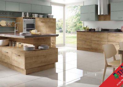 British Kitchens Aberdeen, Aberdeenshire: Sheraton Kitchens Woodgrain Hemlock Barrique