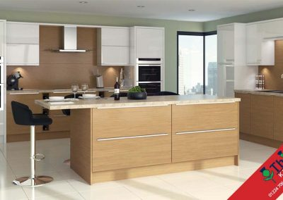 British Kitchens Aberdeen, Aberdeenshire: Sheraton Kitchens Lissa Oak Slab