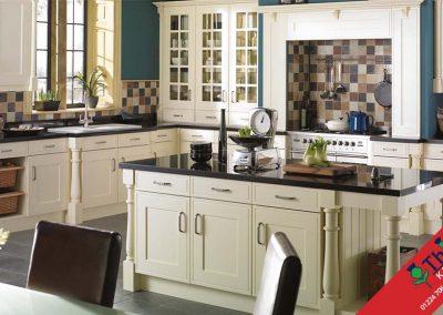 British Kitchens Aberdeen, Aberdeenshire: Sheraton Kitchens Edwardian Buttermilk