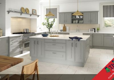 British Kitchens Aberdeen, Aberdeenshire: Sheraton Kitchens Edwardian Painted