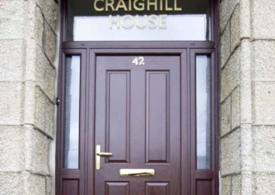 Composite Doors Aberdeen, Aberdeenshire & North East Scotland: Installation Example 13