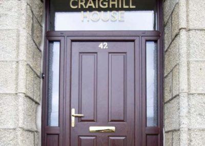 Composite Doors Aberdeen, Aberdeenshire & North East Scotland: Installation Example 13
