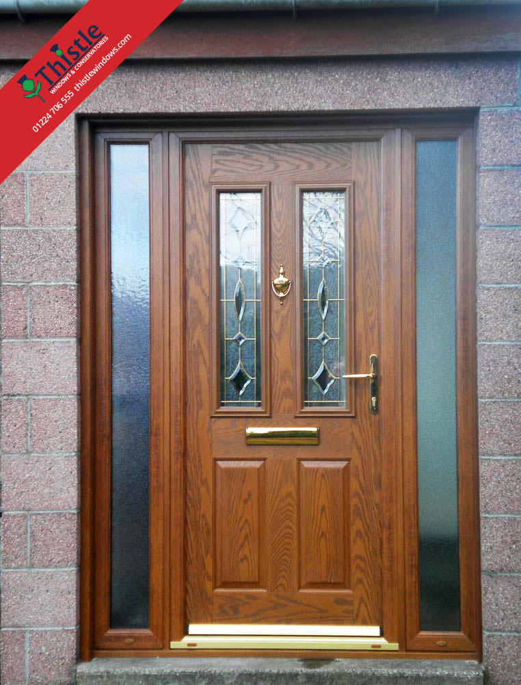 Composite doors aberdeen aberdeenshire thistle windows for Composite windows