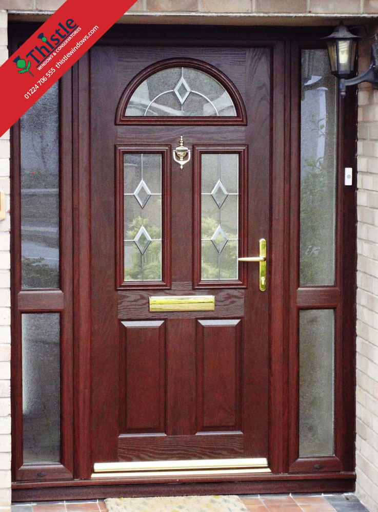 Composite Doors Aberdeen Thistle Strong Amp Secure Front