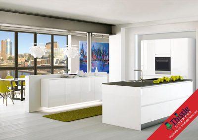 German Kitchens Aberdeen, Aberdeenshire: Kuhlmann Kitchens ENZO Premium White