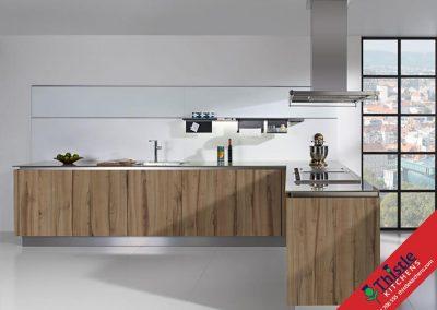 German Kitchens Aberdeen, Aberdeenshire: Kuhlmann Kitchens FINN Perolegno