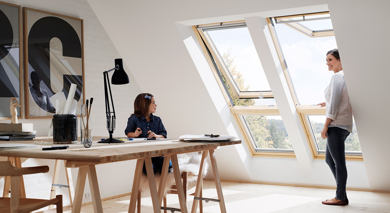 Home Office VELUX Windows Aberdeen, Aberdeenshire & North East Scotland: Inspiration Example 1