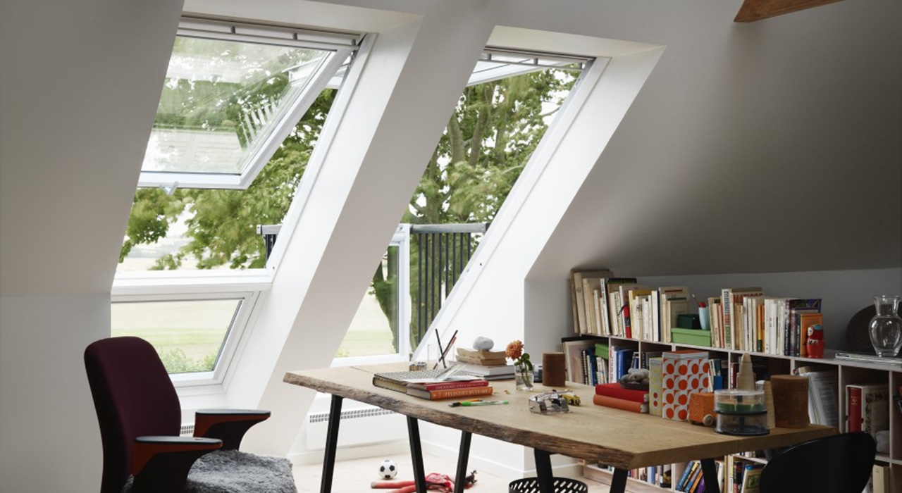 Home Office VELUX Windows Aberdeen, Aberdeenshire & North East Scotland: Inspiration Example 5